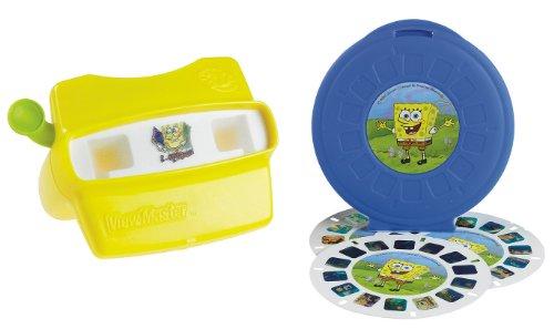 Fisher Price Spongebob Squarepants View Master 3d Gift Set