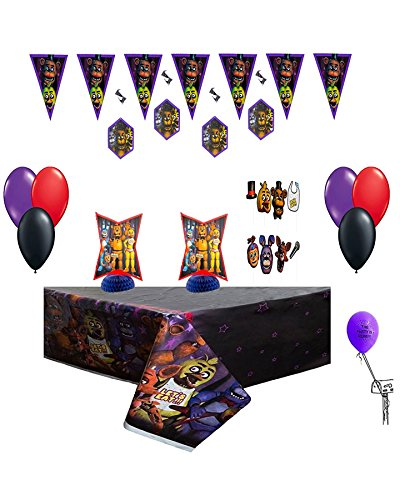 Five-Nights-At-Freddys-Party-Decorating-Kit-Balloons-Table-Cover-Decorating-Kit-Phpto-Props-0