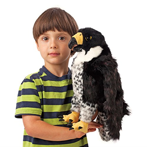 Folkmanis-Peregrine-Falcon-Hand-Puppet-0-2