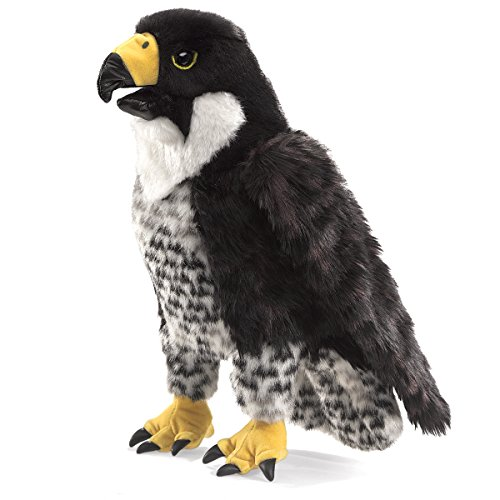 Folkmanis-Peregrine-Falcon-Hand-Puppet-0