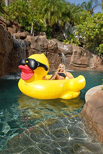 Game Derby Duck Inflatable Swimming Pool Float Hobby