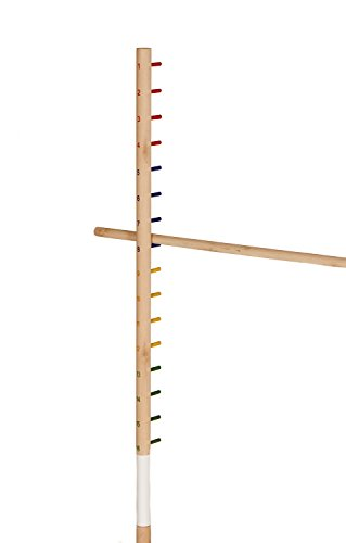 Get-Out-Wooden-Limbo-Set-5-Feet-Tall–Colored-Limbo-Stick-with-Self-Standing-Base–Fun-for-All-Ages-and-Occasions-0-0