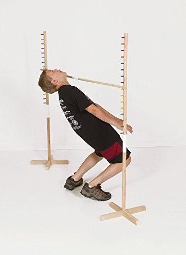 Get-Out-Wooden-Limbo-Set-5-Feet-Tall–Colored-Limbo-Stick-with-Self-Standing-Base–Fun-for-All-Ages-and-Occasions-0-1