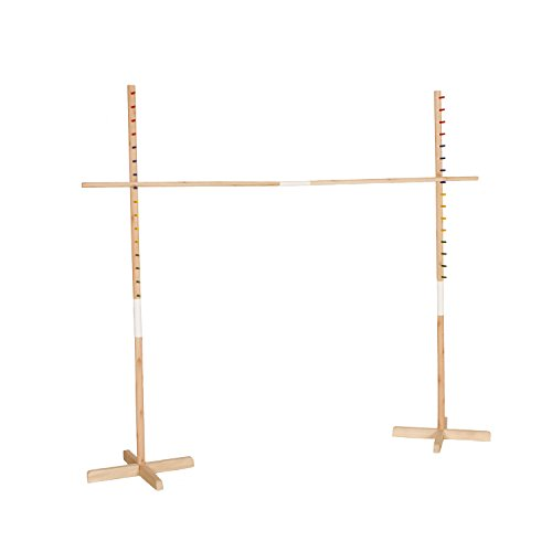 Get-Out-Wooden-Limbo-Set-5-Feet-Tall–Colored-Limbo-Stick-with-Self-Standing-Base–Fun-for-All-Ages-and-Occasions-0-2