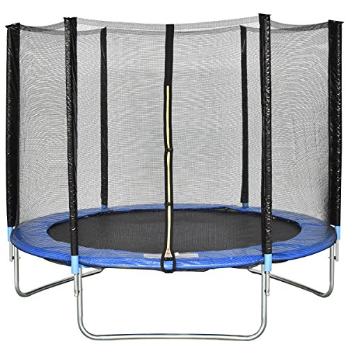 Shop Gymax 14 Ft Trampoline Safety Pad Epe Foam Spring: Giantex Trampoline Combo Bounce Jump Safety Enclosure Net
