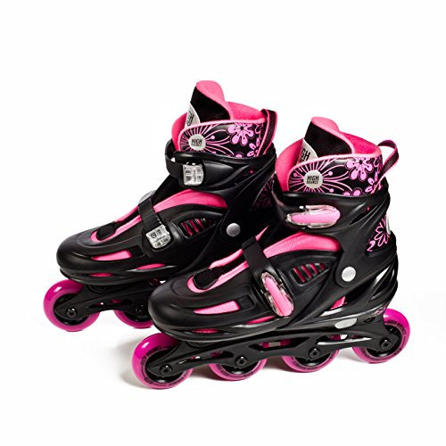 High-Bounce-Rollerblades-Adjustable-Inline-Skate-0-0