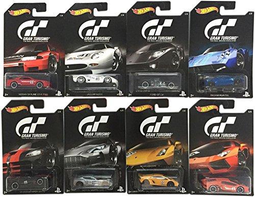 Hot-Wheels-2016-Gran-Turismo-Bundle-Set-of-8-Die-Cast-Vehicles-164-Scale-0
