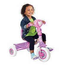 Huffy-Lights-and-Sounds-Folding-Tricycle-Disney-Princess-0