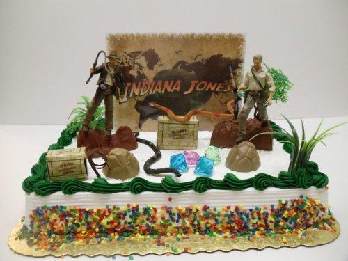 Indiana Jones Cake Topper Set