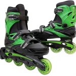 Inline-Skates-for-Adults-and-Kids-Linear-in-line-roller-skate-blades-Pain-Free-True-Fit-Non-slip-wheels-for-Men-Women-Boys-Girls-Green-Lazer-Purple-Camo-0-2