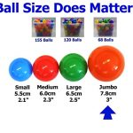 Jumbo-3-Size-My-Balls-Pack-of-150-Crush-Proof-Ball-Pit-Balls-5-Colors-Phthalate-Free-BPA-Free-Non-Recycle-Plastic-0-1