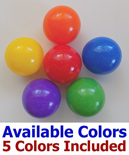 Jumbo-3-Size-My-Balls-Pack-of-150-Crush-Proof-Ball-Pit-Balls-5-Colors-Phthalate-Free-BPA-Free-Non-Recycle-Plastic-0-2
