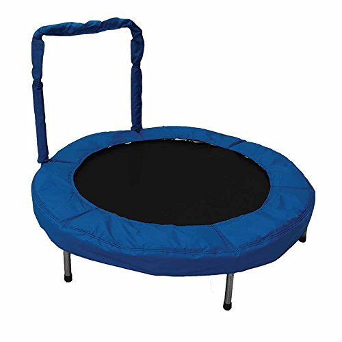 JumpKing 48-Inch Bouncer Kids Mini Small Trampoline With