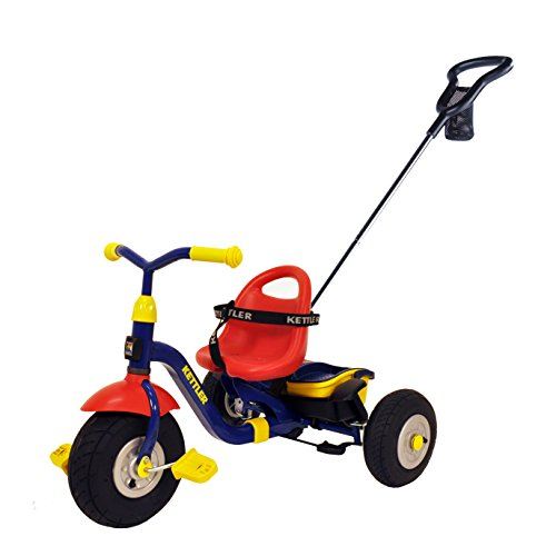Kettler-Happy-Air-Navigator-Fly-Convertible-Tricycle-with-Push-Handle-for-Steering-and-Toy-Sand-Bucket-Toddler-Stroll-and-Ride-Trike-0-0