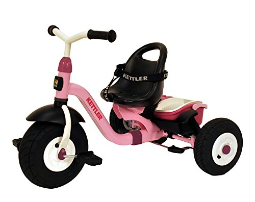 Kettler-Happy-Air-Navigator-Stella-Convertible-Tricycle-with-Push-Handle-for-Steering-and-Toy-Sand-Bucket-Toddler-Stroll-and-Ride-Trike-0