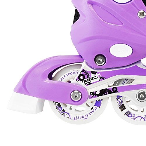 Kids-Adjustable-Inline-Roller-Blade-Skates-Long-Feng-Small-Medium-Large-Sizes-Safe-Durable-Outdoor-Featuring-Illuminating-Front-Wheels-0-2