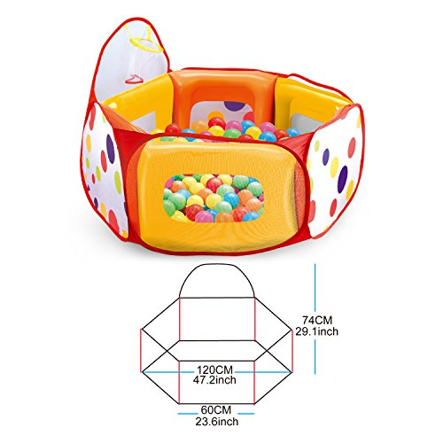 Kids-Ball-Pit-Tent-with-100-Crush-Free-Pit-Balls-Super-Safe-for-Kids-0-2