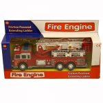 Kids-Fire-Engine-Friction-Powered-Extending-Ladder-Xmas-Gift-Toy-New-Siren-by-Padgett-Brothers-0
