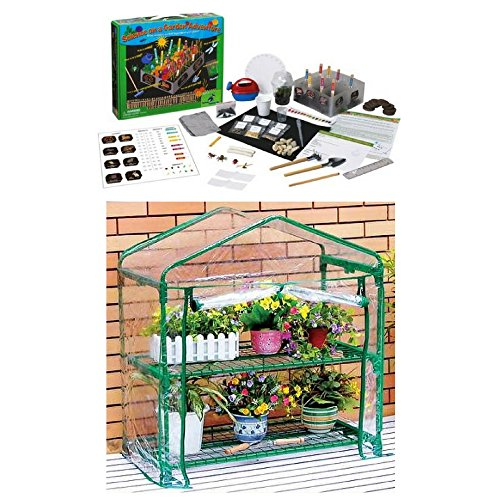 Kids Gardening Adventure With Two Tiered Classroom