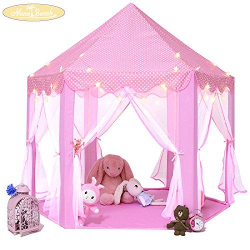 Kids Play House Princess Tent Indoor And Outdoor Hexagon