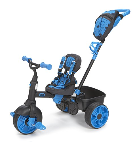 Little Tikes 4 In 1 Ride On Neon Blue Deluxe Edition