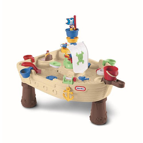 Little-Tikes-Anchors-Away-Pirate-Ship-Outdoor-Play-Water-Table-628566M-0