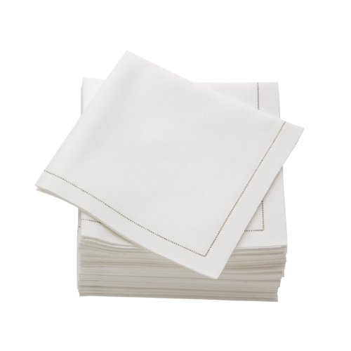 MYdrap-SA21101-5-Pre-folded-Cotton-Luncheon-Napkin-40-Length-x-40-Width-Ecru-Case-of-300-0