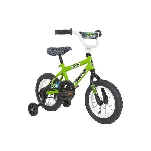 Magna-Boys-12-Bare-Bones-Smooth-Riding-Steel-Sidewalk-Safe-Durable-Kids-Bicycle-With-Training-Wheels-0