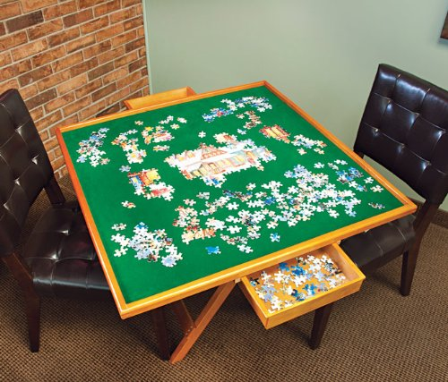 Mary Maxim Puzzle Table Hobby Leisure Mall