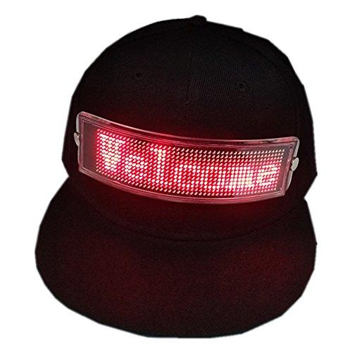 Memo Toys Led Hat Light Up Banner Advertising Cap