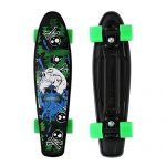 Merkapa-Complete-22-inch-Skull-Style-Skateboard-for-Kids-Beginners-0