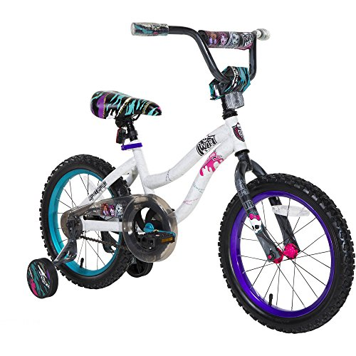 Monster High Girl S Bike 18 Inch Black Purple Pink