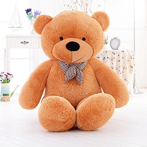 MorisMos-Giant-Teddy-Bear-Plush-Stuffed-Animals-Soft-Toys-For-Children-Kids-Girlfriend-55-14M-Brown-0