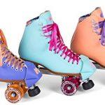 New-Moxi-Beach-Bunny-Indoor-Outdoor-Quad-Roller-Skates-Toe-Guards-0-0