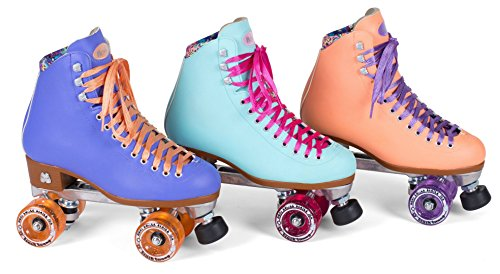 New-Moxi-Beach-Bunny-Indoor-Outdoor-Quad-Roller-Skates-Toe-Guards-0