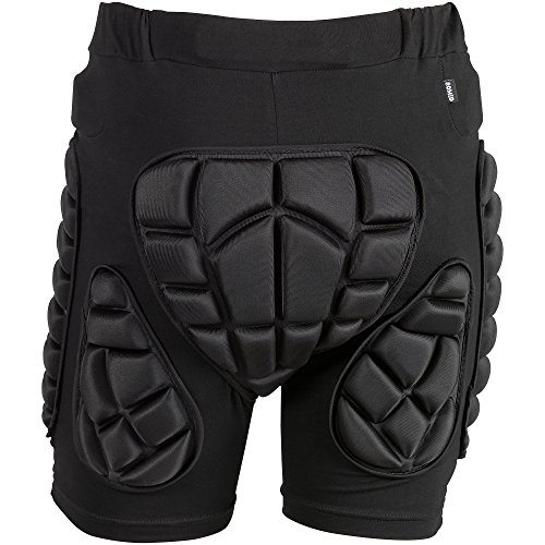 OMID-Padded-Shorts-Breathable-Lightweight-Hip-Butt-EVA-Protective-Gear-Guard-Pants-for-Motorcross-Cycling-Skiing-for-Men-Women-0-2