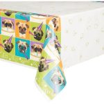 PACK-OF-4-Plastic-Pug-Dog-Party-Table-Cover-84-x-54-0-0