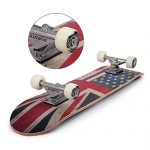 PUENTE-31-Inch-Complete-Skateboard-8-Layer-Canadian-Maple-Wood-Double-Kick-Concave-Skateboards-Tricks-Skate-Board-for-Beginners-and-Pro-0-0