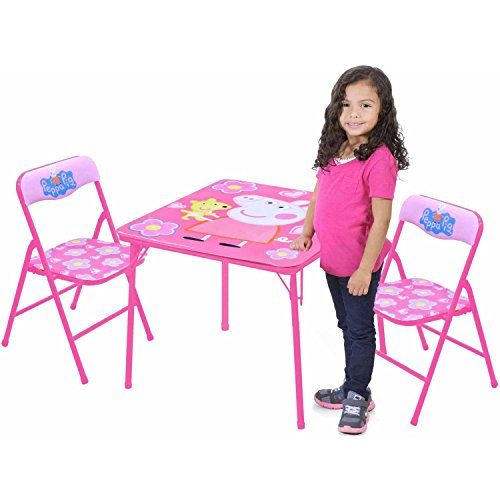 Peppa Pig Table And Chairs Set Hobby Leisure Mall