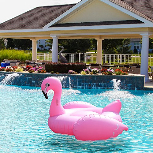 Pink Flamingo Pool Float Amp Tube Huge 80 Raft Inflatable