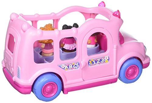 Pink Lil' Movers School Bus Little People by Fisher-Price (Styles Vary) |  Hobby Leisure Mall