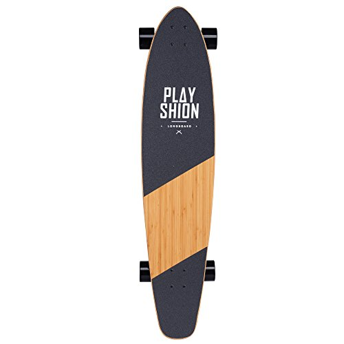Playshion-42-Inch-Bamboo-Longboard-Skateboard-Complete-0-0