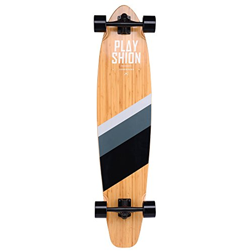 Playshion-42-Inch-Bamboo-Longboard-Skateboard-Complete-0-1