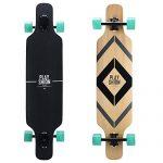 Playshion-Freeride-Freestyle-Drop-Through-Longboard-Skateboard-Complete-39-Inch-0