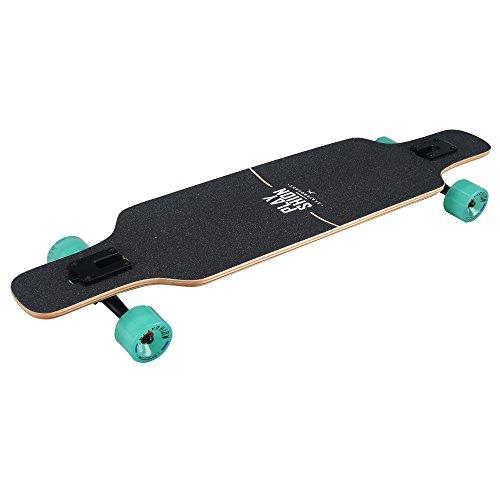 Playshion-Freeride-Freestyle-Drop-Through-Longboard-Skateboard-Complete-39-Inch-0-2