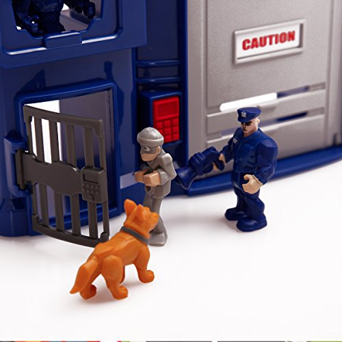 Police-Station-PlaysetPUQU-Future-City-Protector-Police-Deluxe-Playset-Creativity-Learning-Educational-Toy-0-2