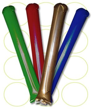 Promote-Your-Team-Bam-Bam-Thunder-Sticks-100-Pairs-Inflatable-Noisemakers-Available-in-14-Vibrant-Colors-Spirit-Sticks-Great-for-Sporting-Events-Awareness-Campaigns-and-Customization-0