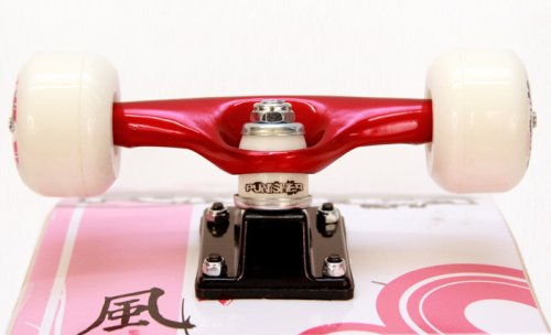 Punisher-Cherry-Blossom-Complete-Skateboard-Red-31-Inch-0-1