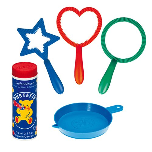 Ring Bubble Blowers : Pustefix mini mix wand bubble maker hobby leisure mall