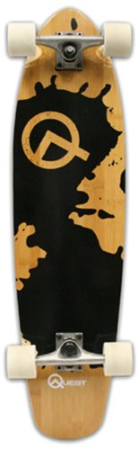 Quest-Rorshack-Bamboo-Longboard-Skateboard-34-Inch-0-0